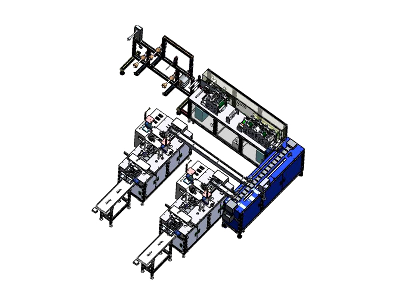 Automatic One With Two Surgical Mask Making Machine
